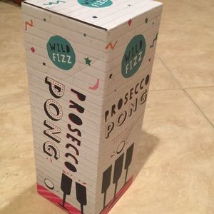 New! Prosecco pong kit. Sealed box.